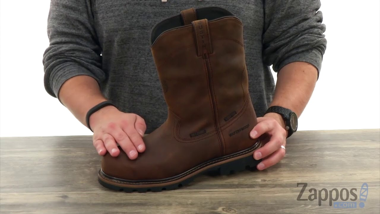 Justin Pulley Waterproof Composite Toe