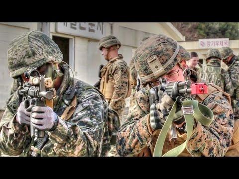 Watch These Marines Sing: U.S. Marines & Republic of Korea Marines