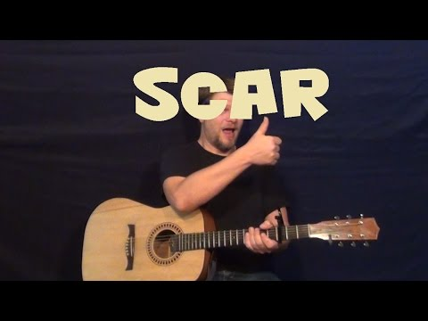 Scar (Lucy Rose) Easy Strum Fingerstyle Guitar Lesson How to Play Tutorial