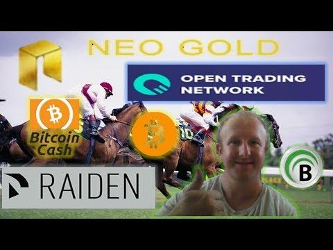 Neo Gold, Bitquence, Open Trading & Raiden networks, Bitcoin Cash, Mastercard & Zimbabwe