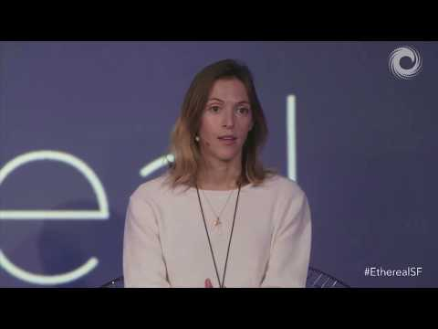 Bancor's Galia Benartzi at Ethereal San Francisco Panel
