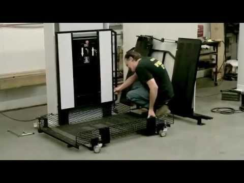 Portable Wheelchair Lift Installation
