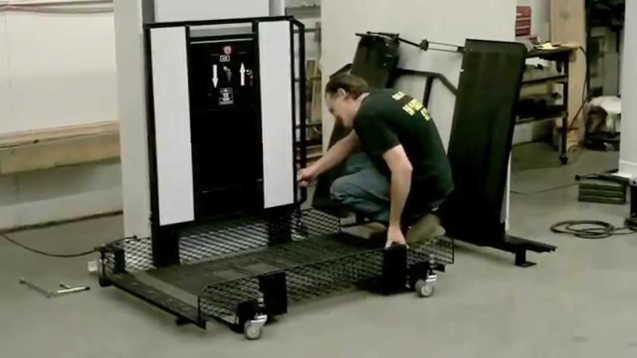 Portable Wheelchair Lift Installation  Accessibility