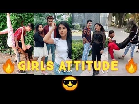 Girls power // Girls Attitude 😎tik tok video//Viral video..