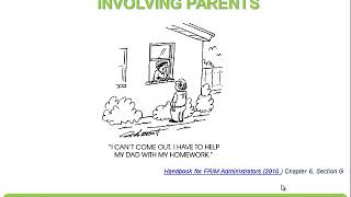 Topic 7: Supporting Parents
