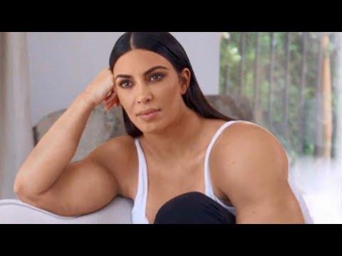 LOL! Kim Kardashian's INSANE Workouts Inspire Hilarious 'Gym Kardashian' Memes