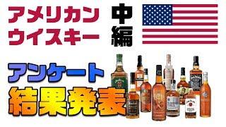 [アンケート企画] アメリカン・ウイスキー -結果発表- 中編