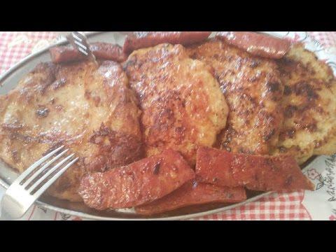 Bakina kuhinja -gurmanska  punjena  pljeskavica  (Gourmet stuffed burgers on Grandma's way)