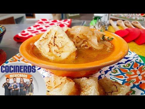 Receta: sopa de cebolla   Cocineros Mexicanos
