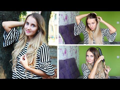 Как быстро удлинить волосы ● Делаю локоны ● Волосы на заколках ● Irresistible Me Hair Extensions