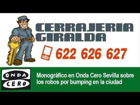 El robo con bumping tratado en Onda Cero Radio (Sevilla)