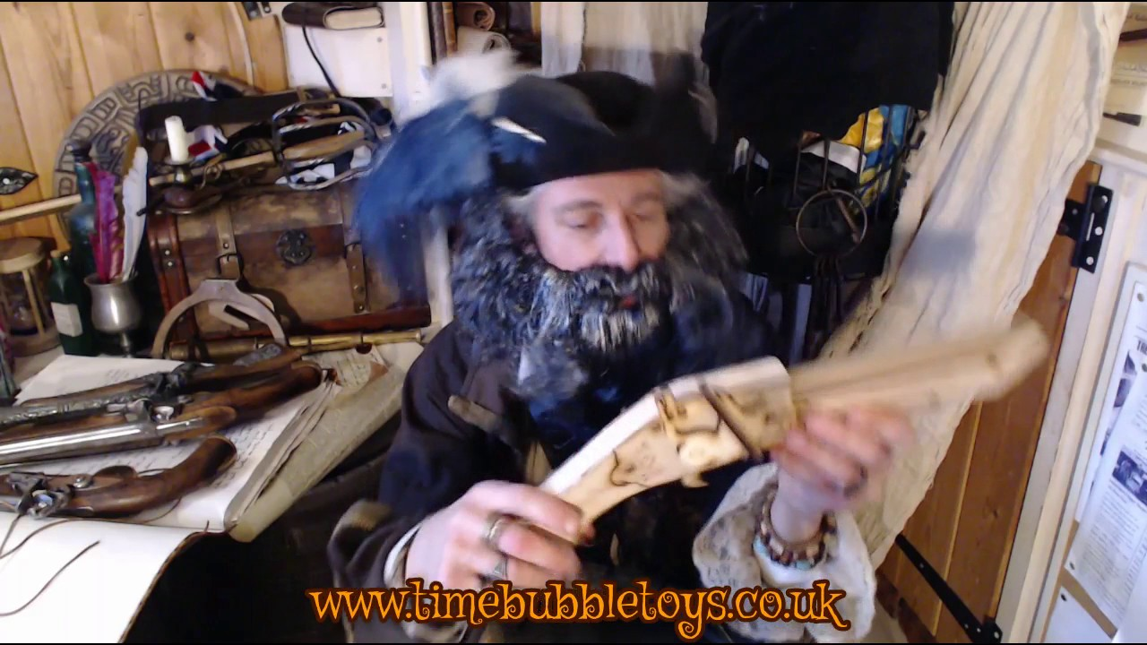 Blackbeard Joins Timebubble Toys