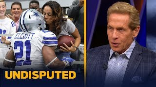Skip Bayless doubles down after Ezekiel Elliott's mom responds to his criticism | NFL | UNDISPUTED