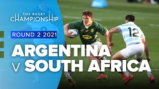 The Rugby Championship   Argentina v South Africa - Rd 2 Highlights