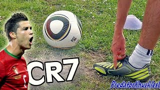 How to shoot a Knuckleball Free Kick like Ronaldo & Juninho by freekickerz
