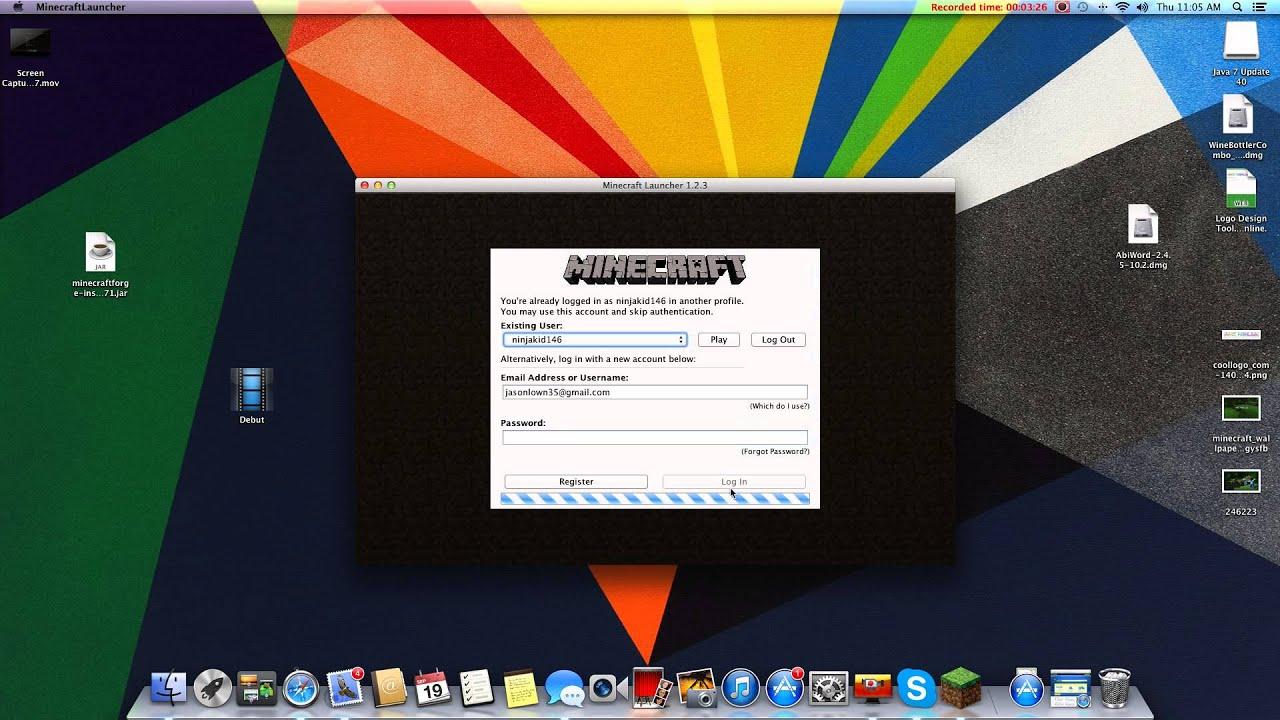 minecraft forge install 1.6.2 mac