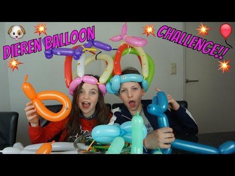 Zelf dieren ballonnen maken challenge met tobias bibi for Ballonnen decoratie zelf maken