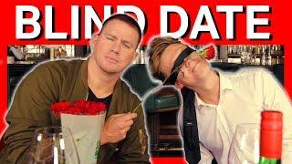 AMAZING BLIND DATE SURPRISE! ❤️ w/ Channing Tatum
