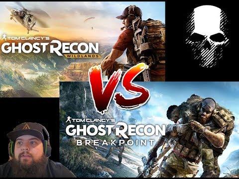 Ghost Recon Wildlands vs Breakpoint