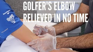 Golfer's Elbow Pain Relieved In No Time with ASTR (REAL RESULTS!!!)