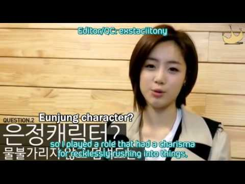 [Diadem Subs] 110315 Freestyle Basketball - Eunjung Interview
