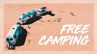 Best Free Camping iฑ Joshua Tree! | Van Life Family