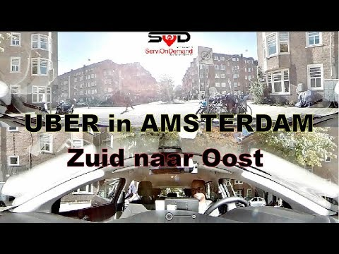 Uber in Amsterdam: 5 star Rider from South to East