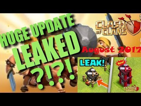 AUGUST 2017 UPDATES (LEAKED) CLASH OF CLANS (TAMIL)