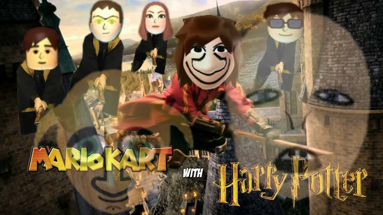 Mario Kart 8 Deluxe - HARRY POTTER MII FROOM