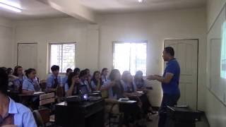 Filipino Training Consultant And Corporate Trainer Trains Pup Students On Speech Communication Ii