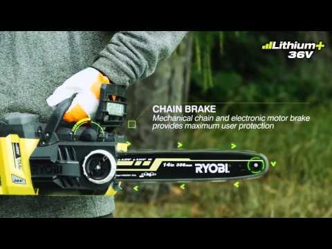 Ryobi 36V Brushless Chainsaw - RCS36X3550HI