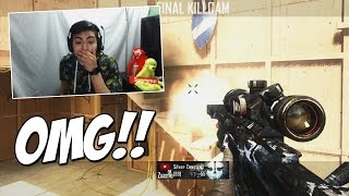 I CALLED OUT THE TRICKSHOT!! - Bo2 FFA TrickShotting!