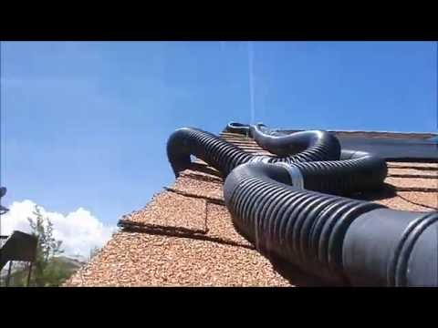 Above ground Pool Solar Water Heater Set up