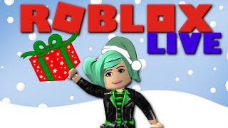 Roblox LIVE | Winter Holiday Games!