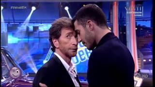 Beso gay de Miguel Ángel Silvestre y Pablo Motos