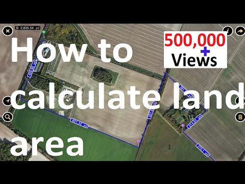 How to calculate land area TA0052