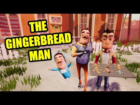 The GINGERBREAD MAN - Hello Neighbor Short Film