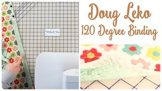 How to Bind 120 Degree Mitered Corners on Tablerunner with Doug Leko