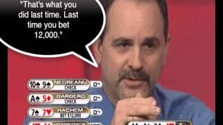 Poker Tells Training Video: Verbal Uncertainty and Hesitation