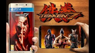 (70mb)Highly Compressed Tekken 7 For Android PSP | PpsspP Game | Gameplay Proof | Hindi