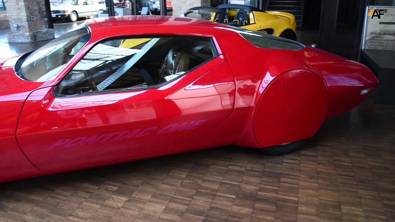 1970 pontiac firebird concept car pontiac one walkaround youtube