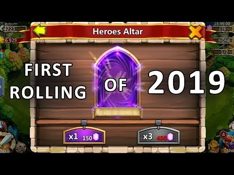 Castle Clash : First Rolling Video Of 2019