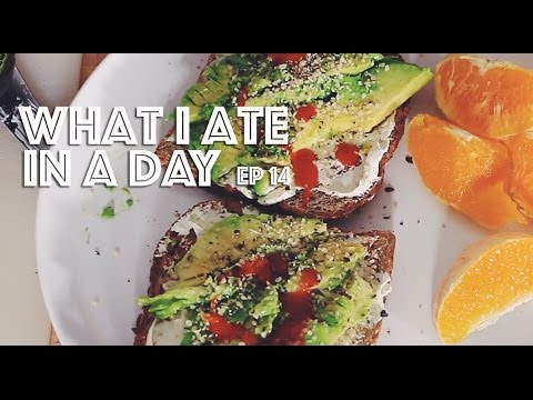 WHAT I ATE IN A DAY (VEGAN) EP #14