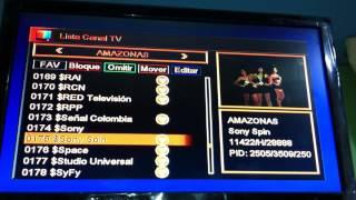 Azamerica s808 Nagra3 (dongle LSBOX-3100)-Nex-Tv PERU