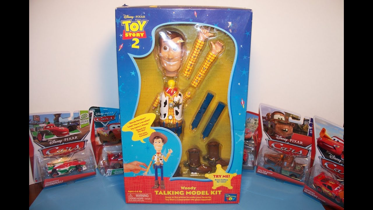 DISNEY PIXAR TOY STORY 2 WOODY TALKING MODEL KIT by