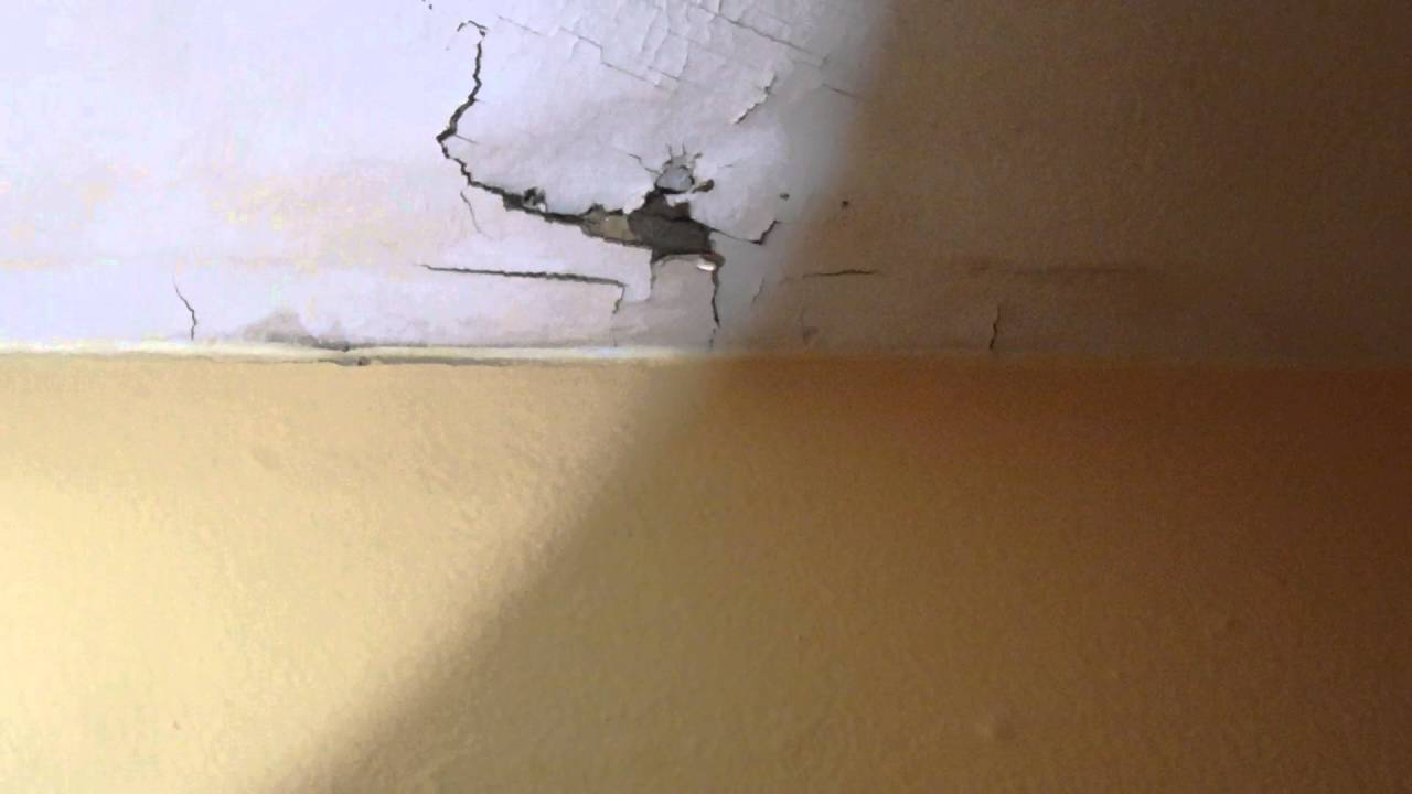 Plumbing Shower Pan Leak Through Ceiling Youtube