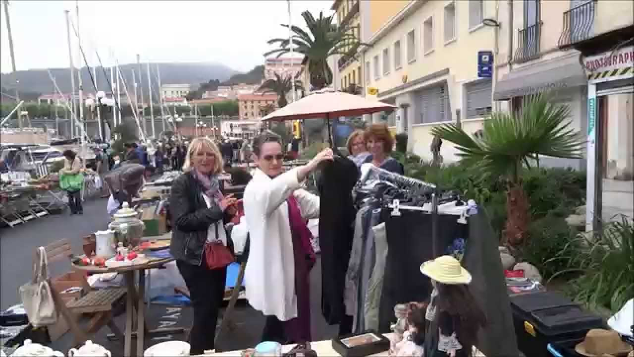 Vide grenier port vendres 3 mai 2015 youtube - Vide grenier port camargue ...