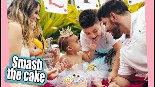 SMASH THE CAKE - PREPARATIVOS 1 ANO DA ELIZA ep02 | Kathy Castricini