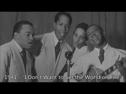 -Most- Ink Spots songs have the same intro