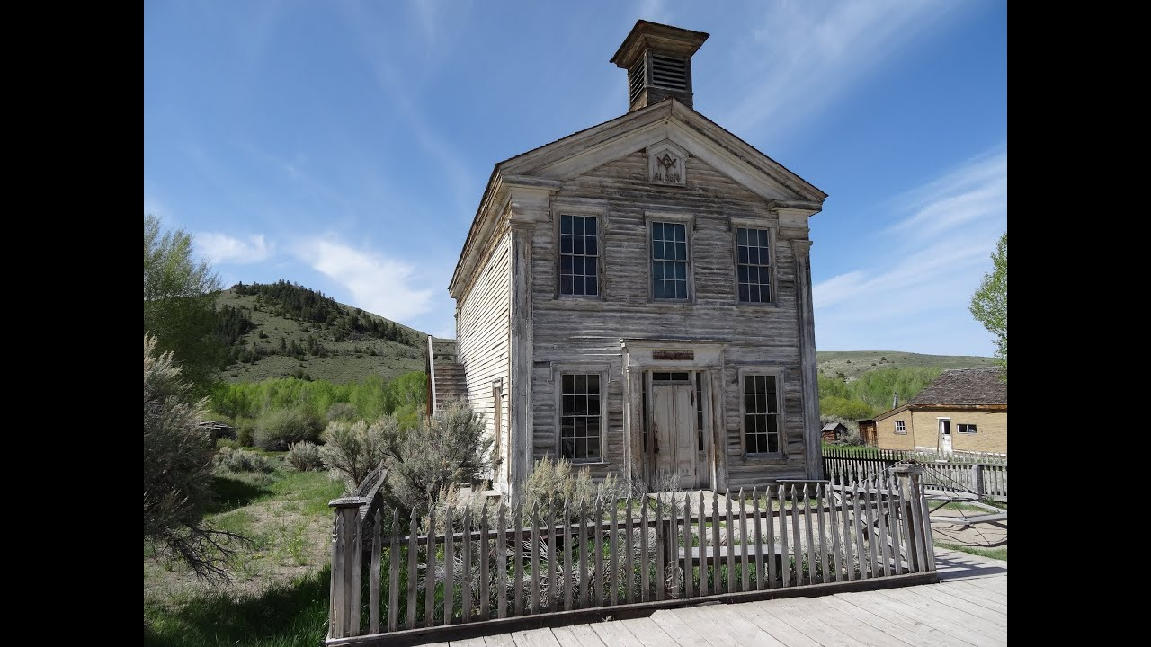Bannack masonic temple school house montana state park for Old school house music playlist